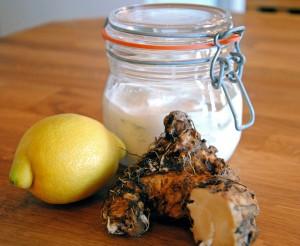 Citron och pepparrotssill