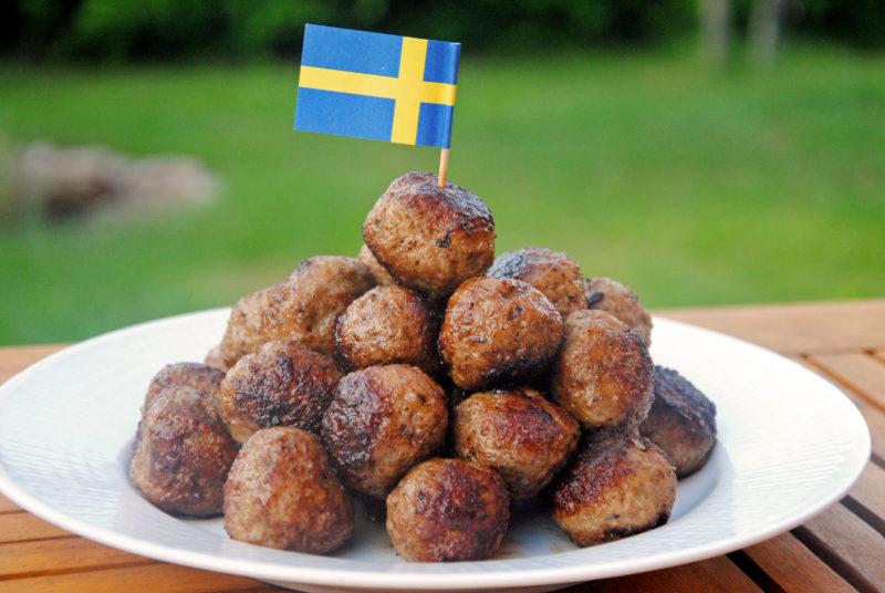 klassiska svenska köttbullar
