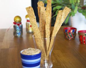 Quinoa och parmesanknäcke