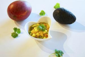 Mango & avokadosalsa