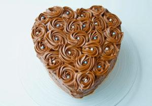 Chokladtårta med chokladsmörkräm