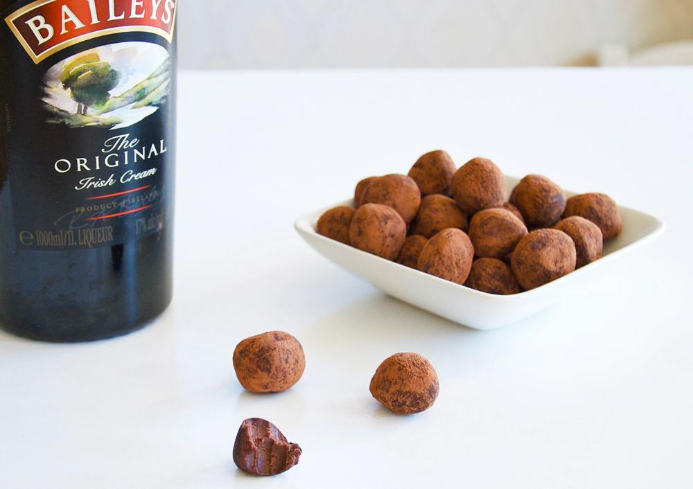 Chokladtryfflar med smak av Baileys